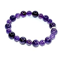 Bracelet Amethyst AA 10MM + 8MM Birthstone Handmade Healing Power Crystal Beads preisvergleich bei billige-tabletten.eu