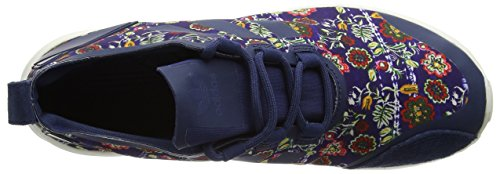 adidas Zx Flux Adv Verve, Sneakers Basses Femme Multicolore (St Dark Slate F13/st Dark Slate F13/core White)