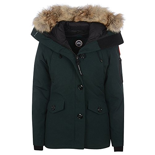 Canada-Goose-Ladies-Montebello-Parka-Jacket-In-Green