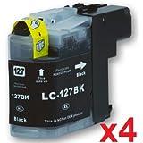 Prestige Cartridge LC-127XL 4-er Pack Druckerpatronen für Brother DCP-J132W, DCP-J152W, DCP-J552DW, DCP-J752DW, DCP-J4110DW, MFC-J245, MFC-J470DW, MFC-J650DW, MFC-J870DW, MFC-J4410DW, MFC-J4510DW, MFC-J4610DW, MFC-J4710DW, MFC-J6520DW, MFC-J6720DW, MFC-J6 - gut und günstig