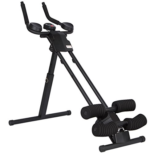 Ultrasport Ab trainer Ultra 150 Curved, Fitness Power AB Trainer. Compact ab...