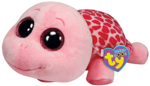 Beanie Boo Turtle - Myrtle - Pink - Large