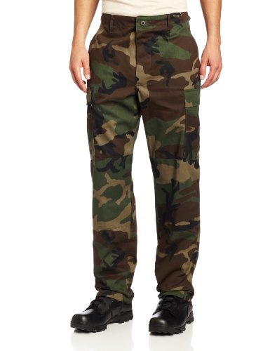 Propper Herren BDU Tactical Hose, Herren, Woodland, Small Short -