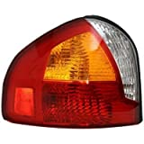 Evan-Fischer EVA15672026260 Tail Light Driver Side LH Plastic lens OE design Amber, clear, red DOT, SAE approved by Evan-Fischer Auto Parts