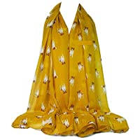 GFM Animal Print Scarf - Jack Russell Dogs Scarf (JR-23-MTD)