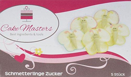 erlinge Zucker, 1er Pack (1 x 60 g) (Butterfly 1. Geburtstag Dekorationen)