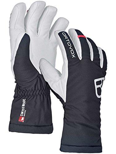 Ortovox Damen Swisswool Freeride Handschuhe, Black Raven, L