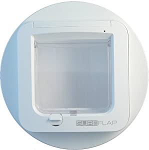SureFlap Microchip Cat Flap Mounting Adaptor in White by SureFlap