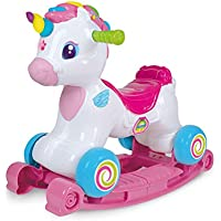 Clementoni Unicorn Rocking 3 in 1 Activity Center with Voice, Multicoloured (617647) preiswert
