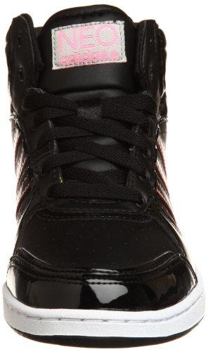 Adidas Schuhe QT Slimcourt MID W Damen black-hyppop-running white (G53705)