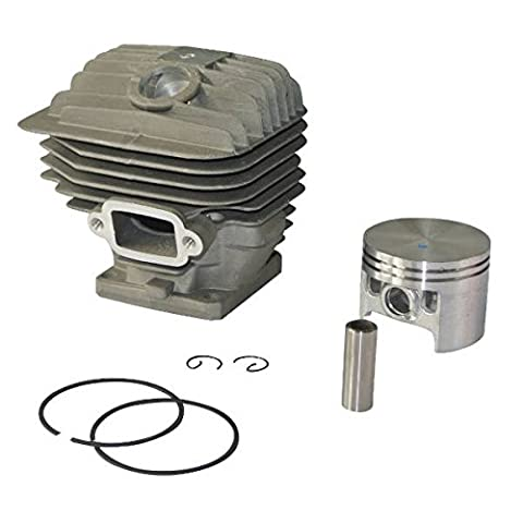 Générique 52mm 12mm Cylindre Piston avec Broche Segment Rebuild Kit Générale pour STIHL MS460 046 Engine part