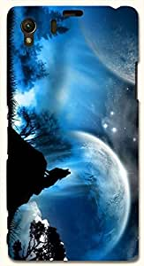 Prominent multicolor printed protective REBEL mobile back cover for Sony Xperia Z1 C6902/L39h D.No.N-T-2181-S39