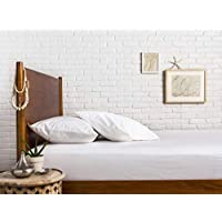 """3-Piece 800 Thread Count 100% Egyptian Cotton – Sateen Weave, White Twin XL -Size Premium Fitted Sheet Set, deep pocket fits mattress upto 18"""""""