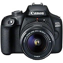 Canon EOS 4000D Appareil photo reflex numérique - Boitier nu