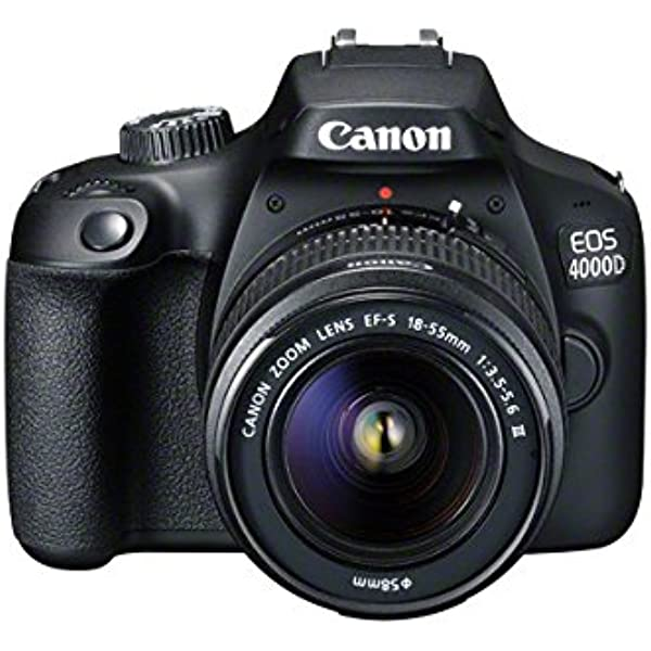 Canon Eos 4000d Dslr Camera And Ef S 18 55 Mm F Kamera