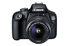 Idea Regalo - Canon EOS 4000D 18-55 / 3.5-5.6 EF-S III Fotocamera digitale 18.7 megapixel - Versione UK