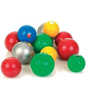 Togu Stonie Hantelball , farblich sortiert