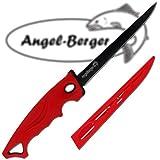 Angel-Berger Filetiermesser sehr scharf Angelmesser Filet Knife Fischmesser beschichtet
