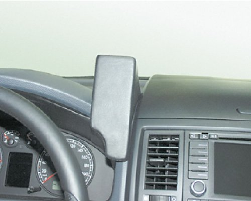 Waeco VWK265 Kunstleder Telefonkonsole schwarz für VW T5 Multivan ab Bj. 2003