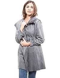 Abbino 6826 Mäntel für Damen Frauen - Made in Italy - 4 Farben - Damenjacken  Damenmäntel Jacken Coat Herbst Winter Muster Farbig… ccca74a98e