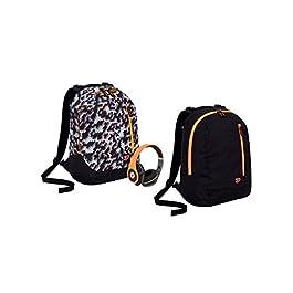 209 FREETOO Marsupio con 5 Tasche Marsupio Bum Bag cintura regolabile singola