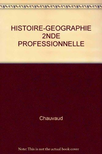 Histoire-Géographie, 2de Professionnelle BEP (Guide pédagogique)