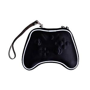 OSTENT Air Foam Hart Pouch Tasche Hülle kompatibel für Microsoft Xbox One Wireless Controller – Farbe Schwarz