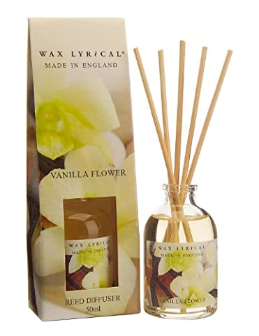 Wax Lyrical 50 ml Reed Diffuser, Vanilla Flower