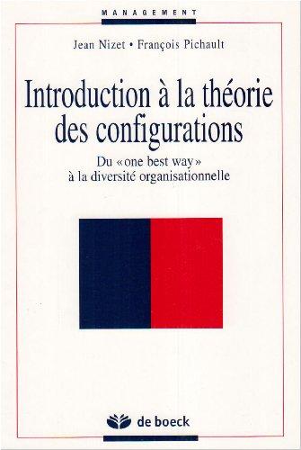 Introduction à la théorie des configurations. Du