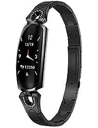 YEARYOWN Relojes Deportivos Pantalla Color Reloj con Pulsómetro, Monitor de Sueño Fitness Tracker, IP67