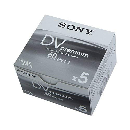 Sony DVM 60 PRE mini DV-Camcorder-Kassette (60min) Aktionspack