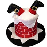 ADULT NOVELTY HAT - SANTA STUCK IN THE CHIMNEY