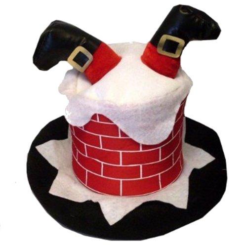 Adultes-fantastiques-Quand-Santa-sest-coinc-dans-la-chemine-chapeau-Adultes