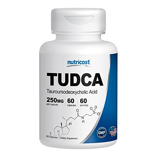 Nutricost Tudca 250mg; 60 Capsules (Tauroursodeoxycholic Acid) - Premium Quality by Nutricost -