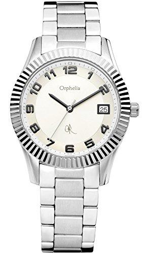 Orphelia 132-2705-88 - Reloj analógico de cuarzo para mujer con correa de acero inoxidable, color plateado
