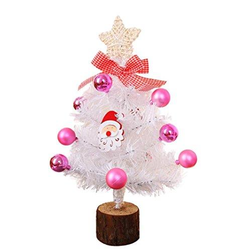 nstliche Beflockung PVC nadeln Weihnachtsbaum Multicolor Urlaub Weihnachten Fenster Decor (mehrfarbig) (Nadel Candy Halloween)