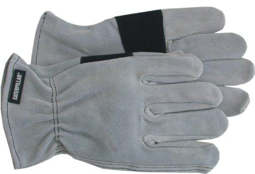 Cat cat012210m Premium Split Leder Treiber, Split Leder Palm Patch Handschuh, Medium, durch Caterpillar Handschuhe & Zubehör (Cat-split-leder)