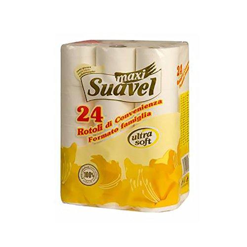 6790fda56a0e Confezione da 12 rotoli... SUAVEL carta igienica in pura cellulosa a 2 veli.