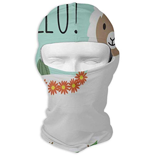 Balaclava Vintage Happy Halloween Cute Colorful Candy Full Face Masks UV Protection Ski Sports Cap Motorcycle Neck Warmer Tactical Hood for Cycling Outdoor Sports Snowboard Women Men Youth Fashion15 (Biker Halloween Chick)