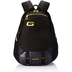 Gear 22 Ltrs Black and Yellow Casual Backpack (BKPOTLNR60112)