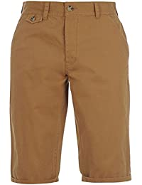 Mens Button Fly 4 Pockets Chino Shorts Pants Bottoms