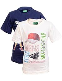 068af555c76 Devil Boys Cotton Printed Half Sleeve Tshirts for Kids (Pack of 2 )-B0792HK566