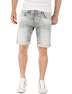 WOTEGA Herren Sweat Shorts in Jeans-Look Glenn