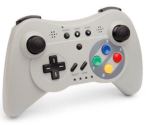 Preisvergleich Produktbild Wireless Controller Wii U Pro SNES Schauen