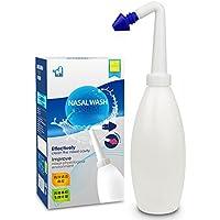NSHK Nasenspülbecken von Manual Portable Nasal Canal Rinse Nasenspülsystem 400ml für Allergische Rhinitis (Ohne... preisvergleich bei billige-tabletten.eu