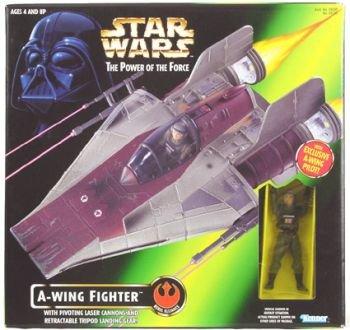 Star Wars Power of The Force A-wing Fighter with Exclusive gebraucht kaufen  Wird an jeden Ort in Deutschland