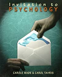 Invitation to Psychology by Carole Wade (1998-09-15)