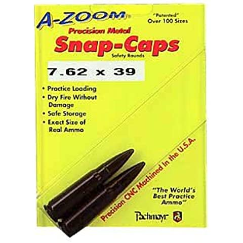 Azoom Snap Caps 762X39 2/Pk by A-ZOOM