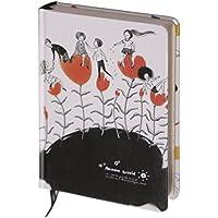 D1354-2 Kalpa Dreamnotes Notebook Sogno Mondo Flower