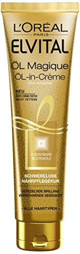 L'Oréal Paris Elvital Magique Öl-in-Creme Kur, 1er Pack (1 x 150 ml)